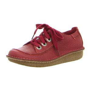 Clarks - 203367144 - Funny Story - red - Schn�rer