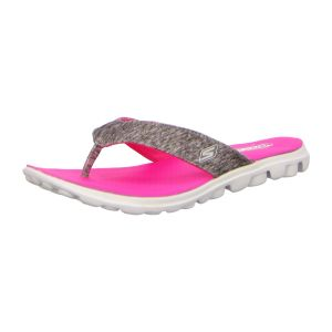 Zehentrenner - Skechers - on-the-GO-Flow - gray/hot pink