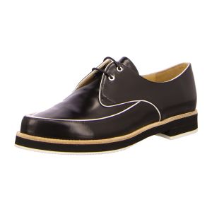 Schnürer - Slack London - Abba - dandy soft black