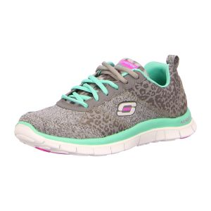 Sneaker - Skechers - Flex Appeal-Tribeca - charcoal/turquoise