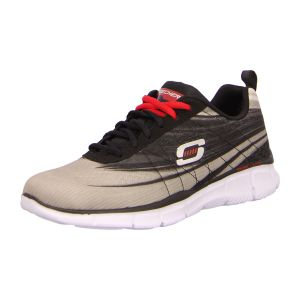 Skechers - 51507 LGBK - Equalizer-Split Up - light gray/black - Sneaker