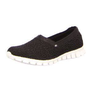 Slipper - Skechers - EZ Flex 2-Make Believe - black/white