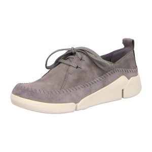 Schnürer - Clarks - Tri Angel - grey/blue