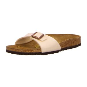 Pantoletten - Birkenstock - Madrid - graceful pearl white
