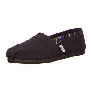 Slipper - TOMS - Classic - black on black