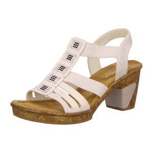 Sandaletten - Rieker - weiss