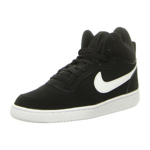 Sneaker - Nike - WMNS Court Borough Mid - black/white