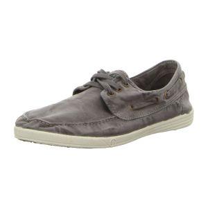 Sneaker - Natural World - Nautico Enzimatico - gris enzimatico