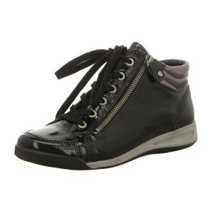 Sneaker - Ara - Rom-STF - schwarz,gun