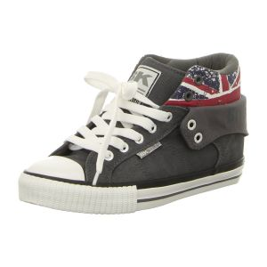 Sneaker - British Knights - Roco - dk grey/union jack