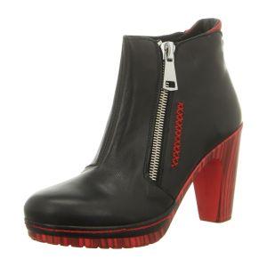 Stiefeletten - Clamp - Jeanette - blk/red