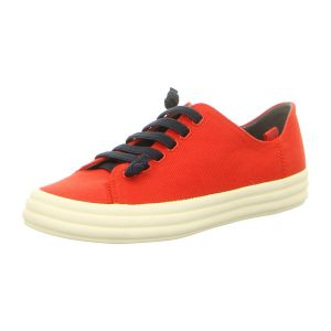 Sneaker - Camper - Hoops - medium red