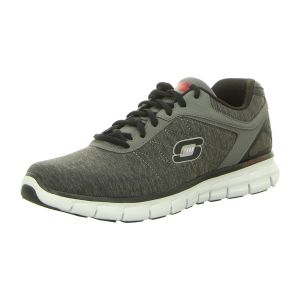 Sneaker - Skechers - Synergy-Instant Reaction - charcoal/red