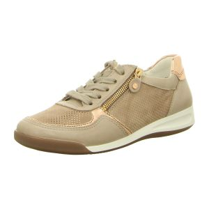 Sneaker - Ara - Rom - fossil,rosegold/taupe