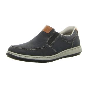 Slipper - Rieker - pazifik/amaretto/navy