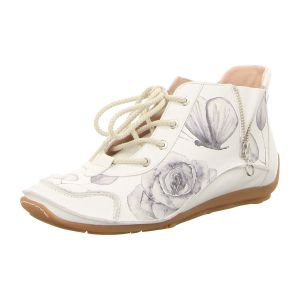 Stiefeletten - Softwaves - white/print