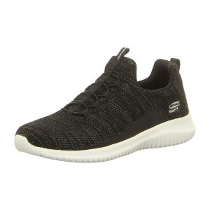 Slipper - Skechers - Ultra Flex-Capsule - black/white