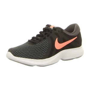 Sneaker - Nike - WMNS Revolution 4 EU - black/crimson pulse-anthracite