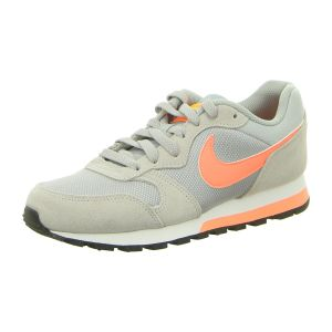 Sneaker - Nike - WMNS MD Runner 2 - wolf grey/bright mango