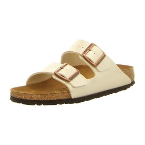 Pantoletten - Birkenstock - Arizona - graceful pearl white