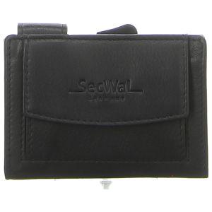 Geldbörsen - SecWal - Kartenetui mit Geldbeutel Dk - schwarz
