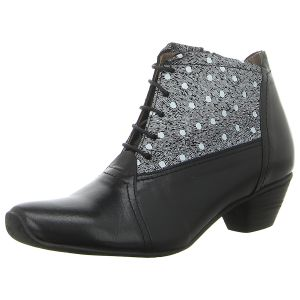 Stiefeletten - Maria Shoes - m.k.negro/yibuti black white