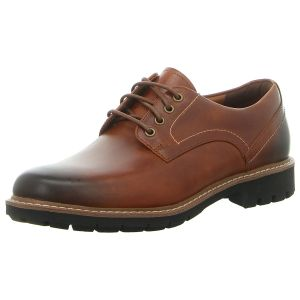 Business-Schuhe - Clarks - Batcombe Hall - dark tan