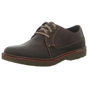 Schnürer - Clarks - Vargo Plain - dark brown