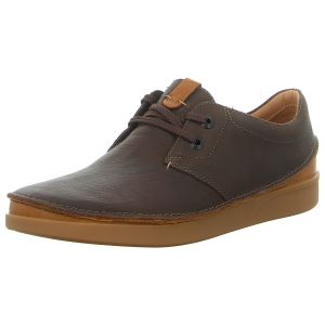 Schnürer - Clarks - Oakland Lace - dark brown