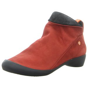 Stiefeletten - Softinos - Farah - red/anthracite