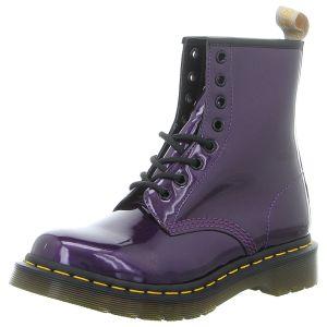 Stiefeletten - Dr. Martens - 1460 Vegan Chrome - dark purple