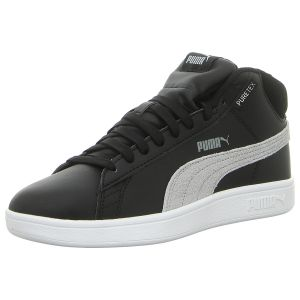 Sneaker - Puma - Smash v2 Mid PureTEX - black-quarry