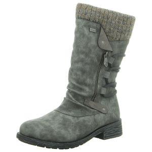 Stiefel - Remonte - grau kombi