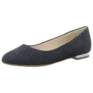 Ballerinas - Caprice - navy dots sue