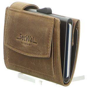 Geldbörsen - SecWal - Kartenetui mit Geldbeutel Dk - hunter