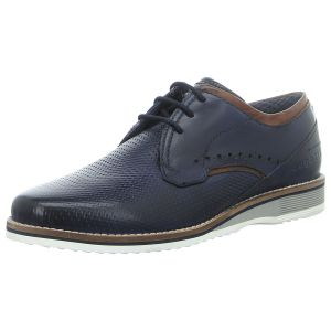 Schnürschuhe - Bugatti - Ciro Light - dark blue / cognac