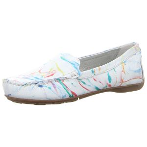 Slipper - Gerry Weber - Fidschi 01 - weiss-multi