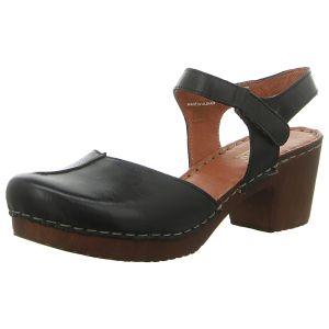 Sandaletten - Manitu - schwarz