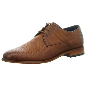 Business-Schuhe - Bugatti - Sesto Evo - cognac / dark brown