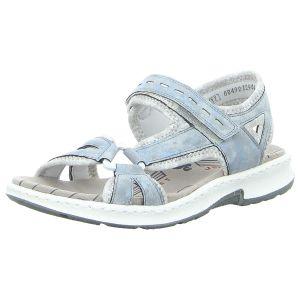 Sandalen - Rieker - blau kombi
