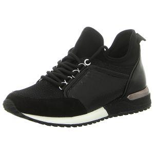Sneaker - La Strada - black micro snake