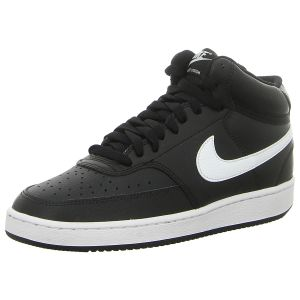 Sneaker - Nike - WMNS Court Vision Mid - black/white