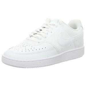Sneaker - Nike - WMNS Nike Court Vision Low - white/white-white
