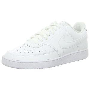 Sneaker - Nike - Court Vision Lo - white/white-white