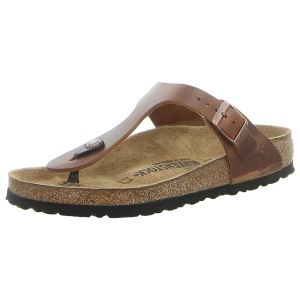 Zehentrenner - Birkenstock - Gizeh - antique brown