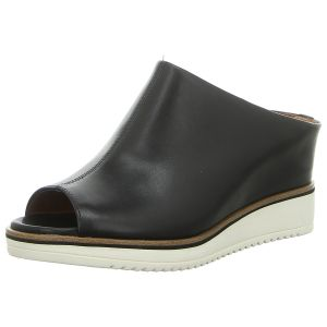 Pantoletten - Tamaris - black leather