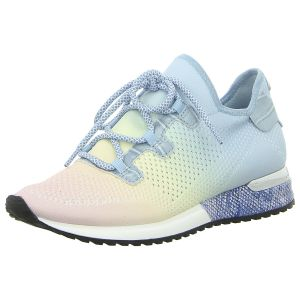 Sneaker - La Strada - blue changing knitted