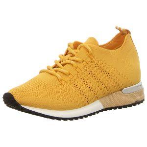 Sneaker - La Strada - knitted yellow