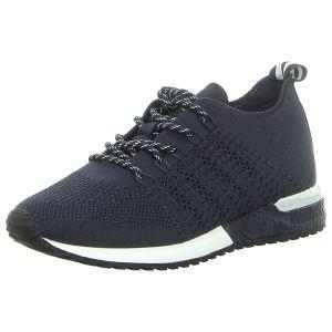 Sneaker - La Strada - knitted navy blue