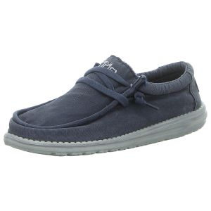 Schnürschuhe - Hey Dude - Wally Washed - navy